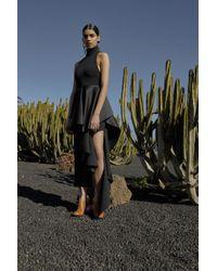 Solace London - Lara Dress Black - Lyst