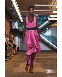 Solace London - Naya Dress Lilac - Lyst