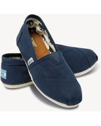 TOMS - Womens Classic Laid Back Slip On - Lyst