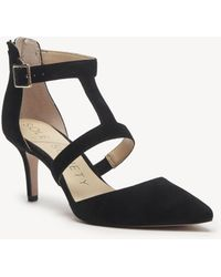 Sole Society - Edelyn (black Kid Suede) Women's Shoes - Lyst