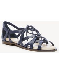 56a942d277be Lyst - Sole Society Calla Lace-up Gladiator in Natural