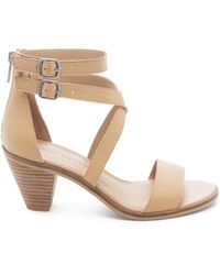 Lucky Brand Ressia Double Ankle Strap Sandal - Natural