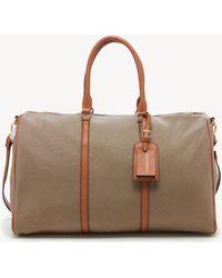 Sole Society Lacie Weekender Vegan Leather Weekender - Brown