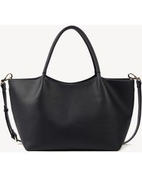 Sole Society - Cindy Vegan Leather Slouchy Tote - Lyst