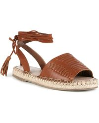 Sole Society - Clover Lace Up Espadrille - Lyst