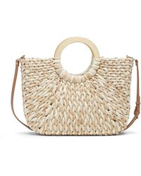 Sole Society Elise Tote Straw Tote - Multicolor