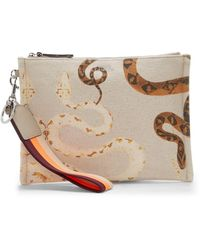 Vince Camuto Sosia Clutch - Natural