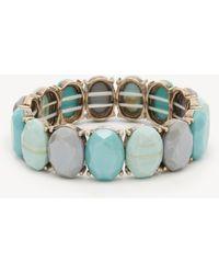 Sole Society - Stone Stretch Bracelet - Lyst