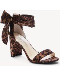 e56a89bbf13f Lyst - Calvin Klein Narella Women Us 8 Nude Sandals in Natural