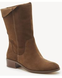 Sole Society Calanth Slouchy Bootie - Brown