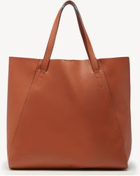 Sole Society Willow Tote Faux Leather Tote - Brown