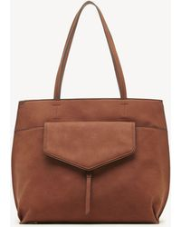 Sole Society - Lyndi Tote Faux Leather Tote - Lyst