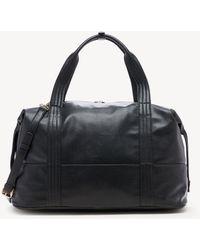 Sole Society Morgan Weekender Faux Leather Weekender - Black
