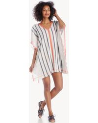 Sole Society - Stripe Cover-up - Lyst