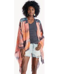 Sole Society - Ornate Printed Kimono - Lyst