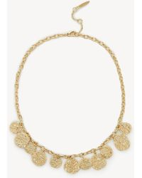 """Sole Society - 18"""" Frontal Necklace - Lyst"""