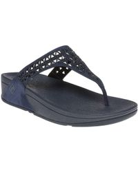 Fitflop - Carmeltm Toe Post Sandals - Lyst