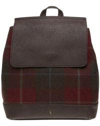 Joules - Trippa Tweed Backpack - Lyst