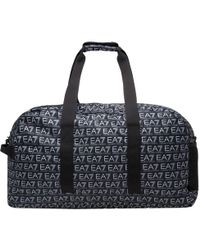 EA7 - Train Monogram Holdall - Lyst
