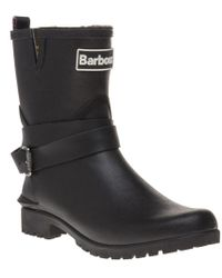 Barbour - International Biker Boots - Lyst