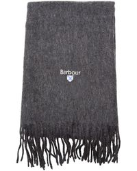 Barbour - Lambswool Scarf - Lyst