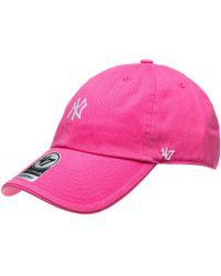 47 Brand - New York Yankees Cap - Lyst