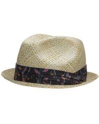 Paul Smith - Woven Straw Hat - Lyst