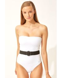 Solid & Striped The Madeline Belt - White