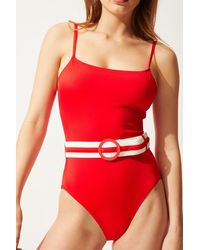 Solid & Striped The Nina Belt - Red