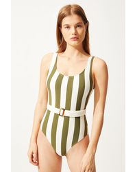 Solid & Striped The Anne-marie Belted - Multicolor