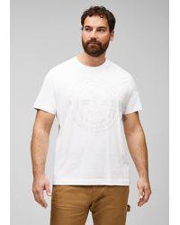 S.oliver T-Shirt mit Label-Print - Weiß