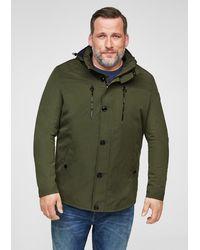 S.oliver Jacke mit abnehmbarer Kapuze - Grün