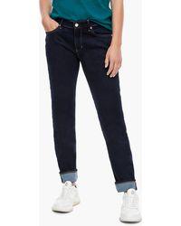 S.oliver Regular Fit: Straight leg-Denim - Blau