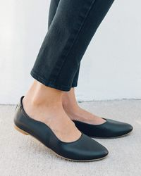 Soludos Yebo Vegan Ballet Flat - Black