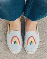 Soludos Rainbow Bright Mule - Multicolour