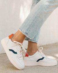 Soludos Roma Sneaker - White
