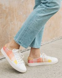 Soludos - Embroidered Ombre Sneaker - Lyst