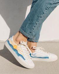 Soludos Sunrise Sunset Sneakers - White