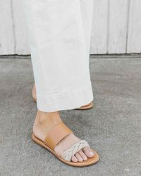 Soludos Braided Slide Sandal - Multicolour