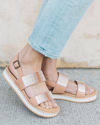 Soludos Remy City Sandal - White