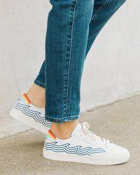Soludos Tidal Wave Ibiza Sneaker - White