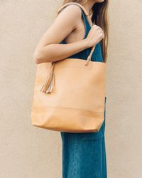 Soludos - Merida Leather Tote - Lyst