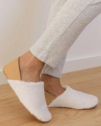 Soludos Kingston Cozy Slipper - White
