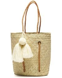 Soludos - Exclusive! Merida Woven Beach Tote With Adjustable Straps - Lyst