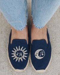Soludos Day And Night Espadrille Mule - Blue