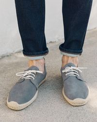 Soludos Derby Lace-up - Blue