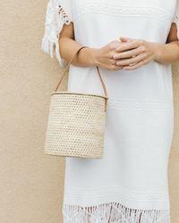 Soludos - Merida Woven Bucket Bag - Lyst