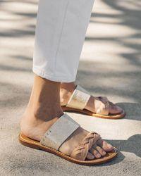 Soludos Braided Slide Sandal - Grey