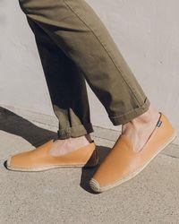 Soludos Leather Smoking Slipper - Multicolour
