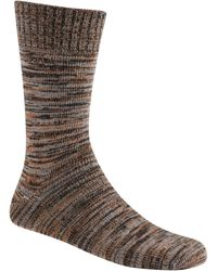 Sorel Spacedye Wool Crew Socks - Green